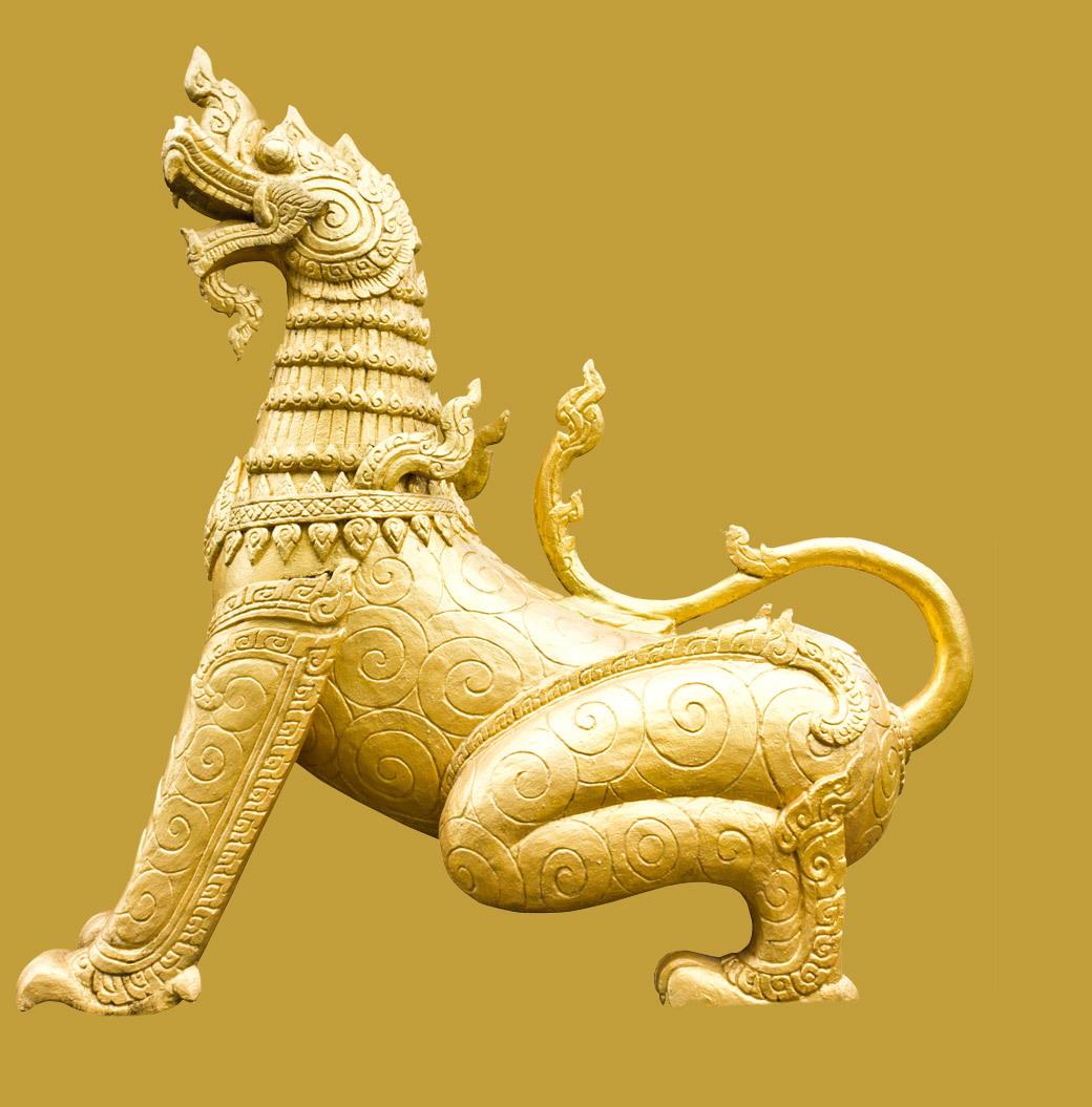 Hero gold dragon